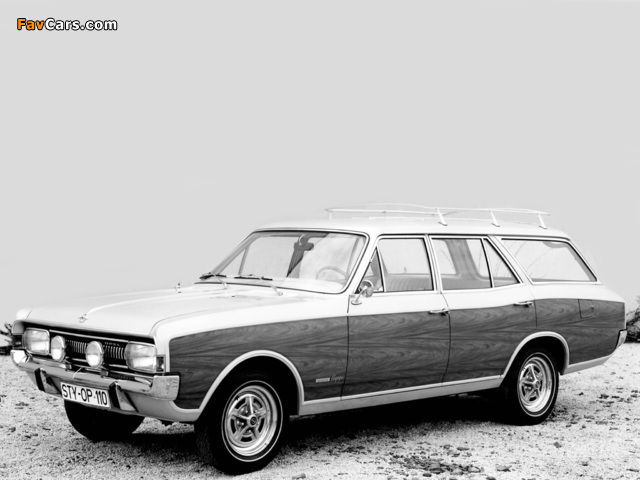 Opel Commodore Voyage Concept (A) 1968 wallpapers (640 x 480)