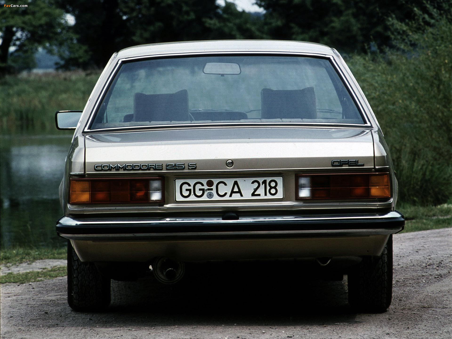 Opel Commodore (C) 1978–82 photos (1920 x 1440)