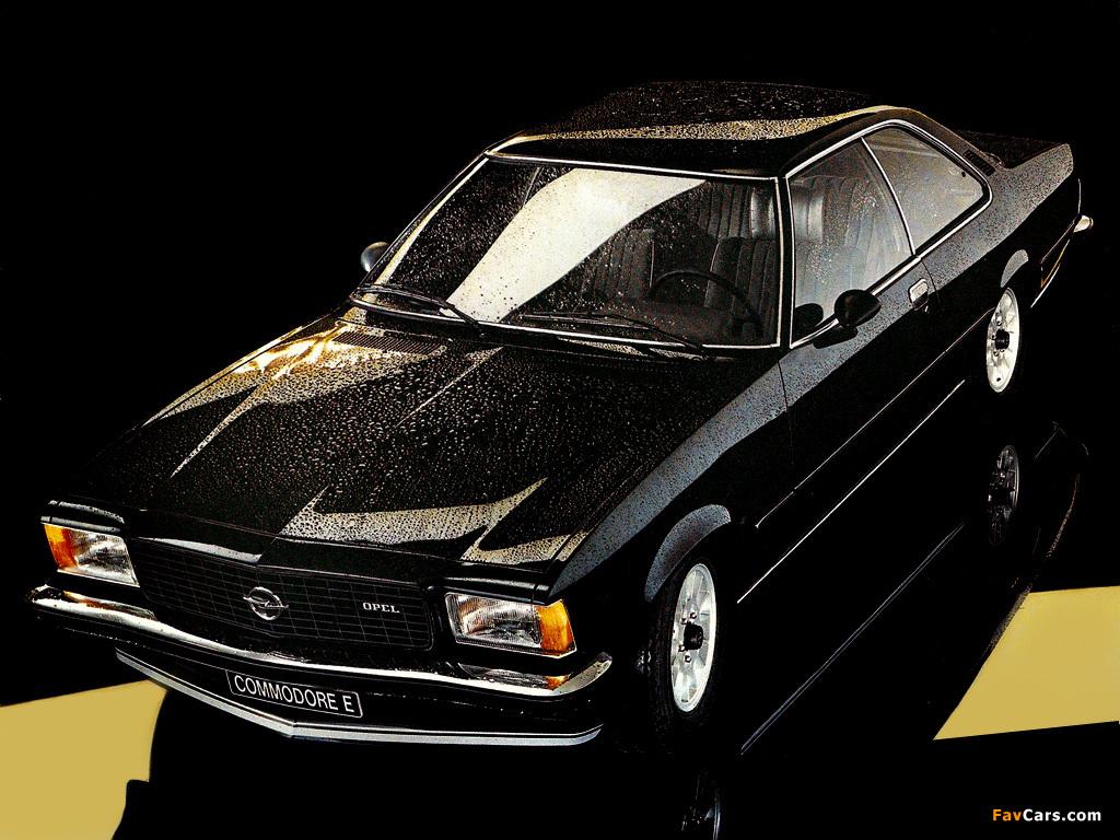Opel Commodore E Coupe (B) wallpapers (1024 x 768)