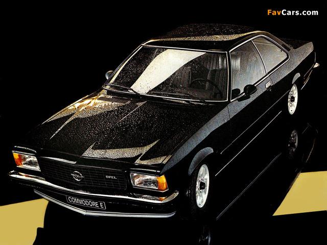 Opel Commodore E Coupe (B) wallpapers (640 x 480)