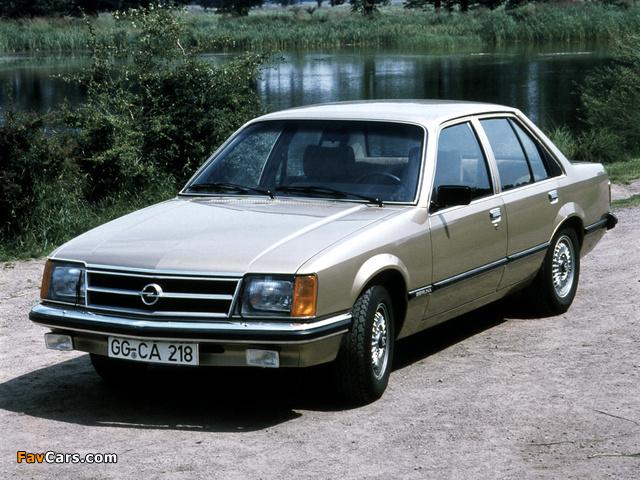 Photos of Opel Commodore (C) 1978–82 (640 x 480)