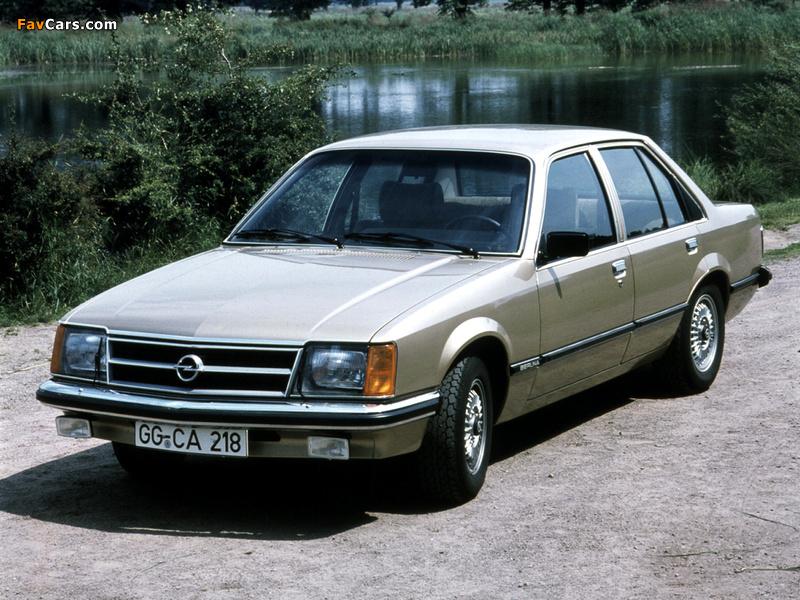 Photos of Opel Commodore (C) 1978–82 (800 x 600)