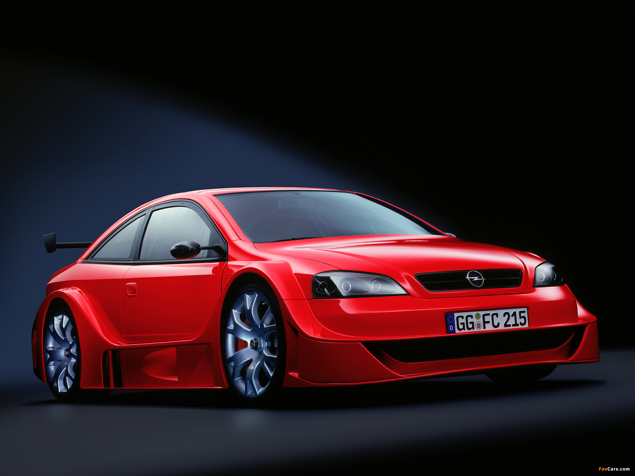 Opel Astra Opc X Treme Concept G 2001 Wallpapers