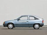 Photos of Opel Kadett Impuls I (E) 1991