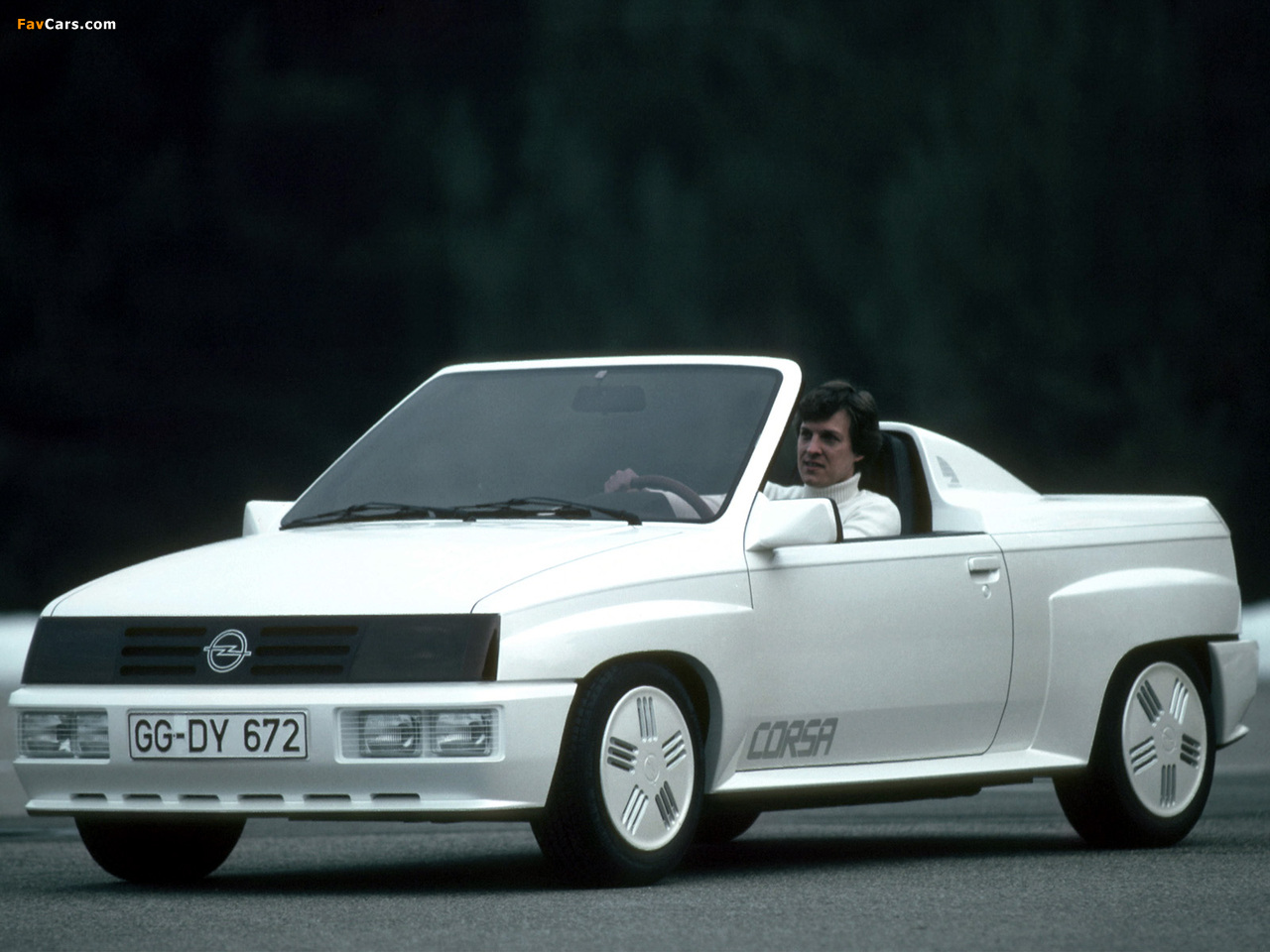 Images of Opel Corsa Spider Concept 1982 (1280 x 960)
