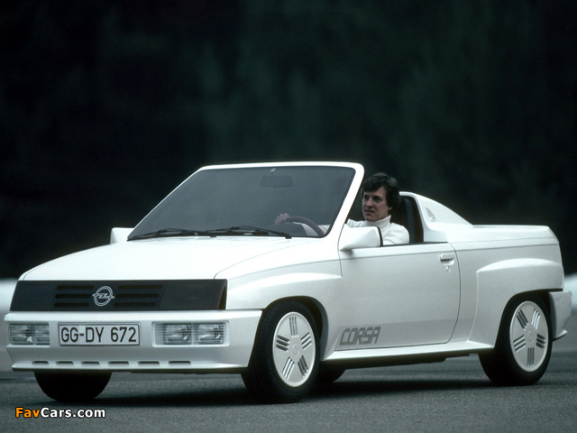 Images of Opel Corsa Spider Concept 1982 (640 x 480)