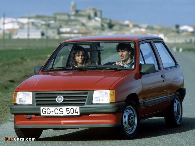 Images of Opel Corsa 3-door (A) 1982–90 (640 x 480)