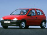 Images of Opel Corsa 3-door (B) 1993–97
