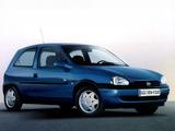 Images of Opel Corsa 3-door (B) 1997–2000