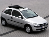Images of Opel Corsa Canvas Top (C) 2000–03