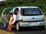 Images of Opel Corsa 5-door (C) 2000–03