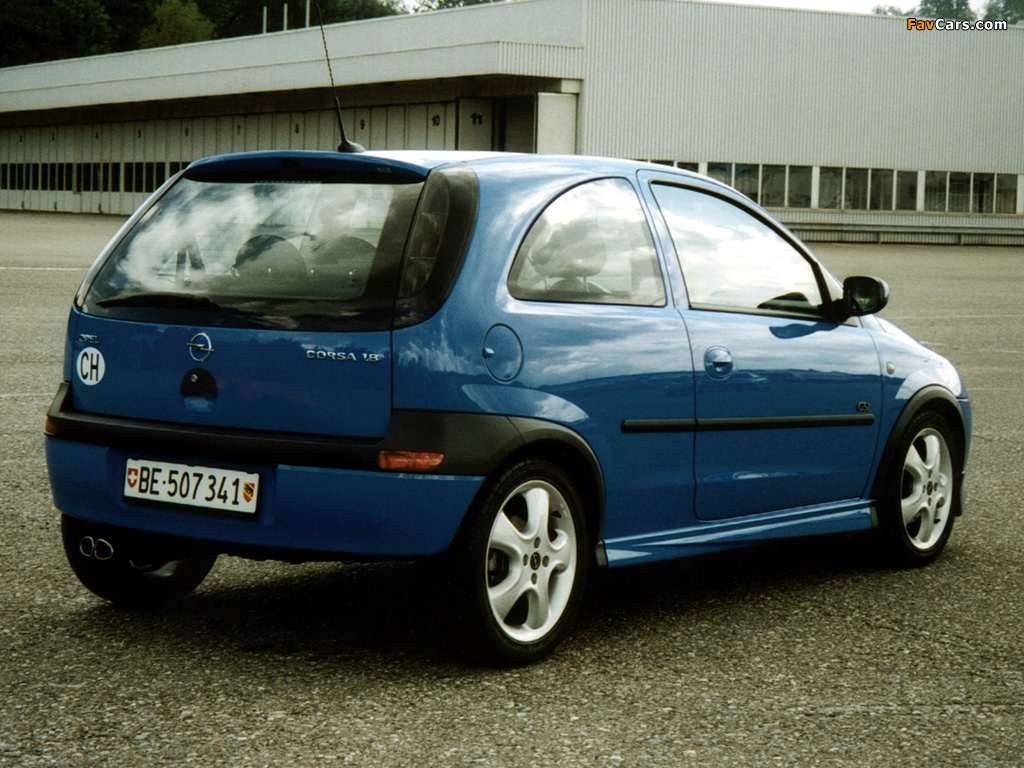 Images of Opel Corsa GSi (C) 2000–06 (1024 x 768)