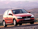 Images of Opel Corsa 3-door (C) 2000–03
