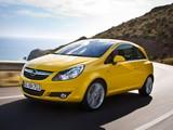Images of Opel Corsa 3-door (D) 2009–10
