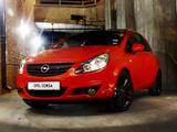 Images of Opel Corsa Color Edition 3-door ZA-spec (D) 2010–11