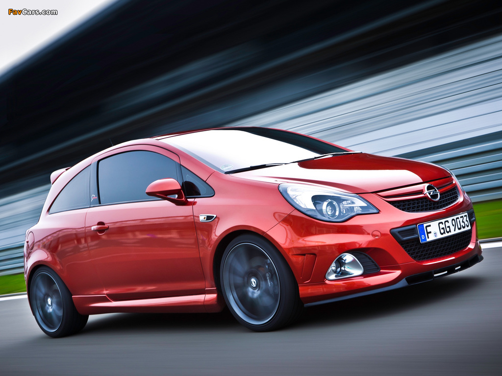 Images of Opel Corsa OPC Nürburgring Edition (D) 2011 (1024 x 768)