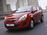 Images of Opel Corsa 5-door ZA-spec (D) 2011