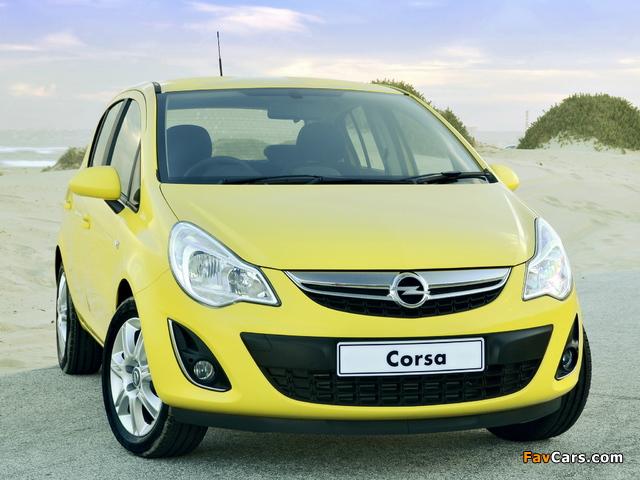 Images of Opel Corsa Turbo 5-door ZA-spec (D) 2013 (640 x 480)