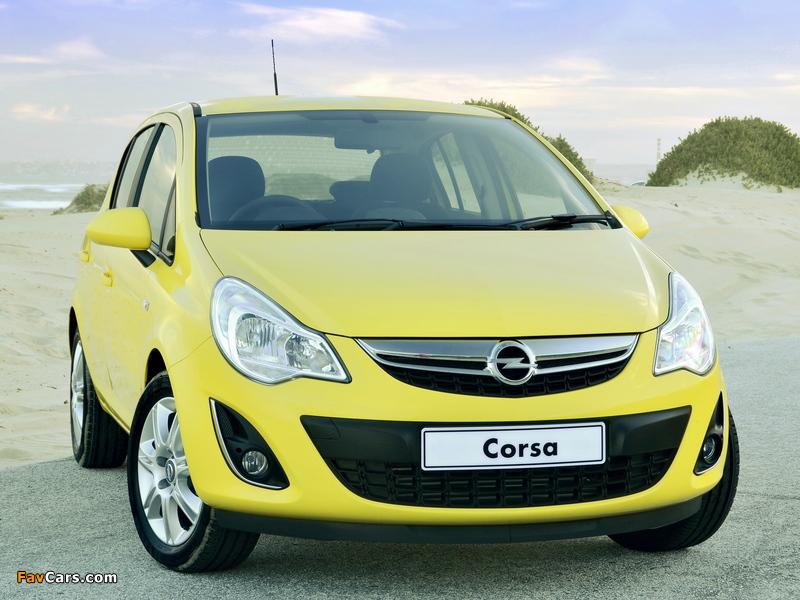 Images of Opel Corsa Turbo 5-door ZA-spec (D) 2013 (800 x 600)
