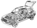Opel Corsa 3-door (A) 1982–90 wallpapers