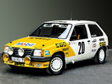 Opel Corsa 1.3 Group A 1985 pictures
