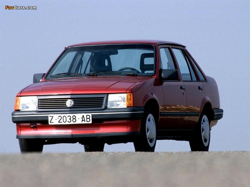 Opel Corsa Sedan (A) 1985 wallpapers (800 x 600)