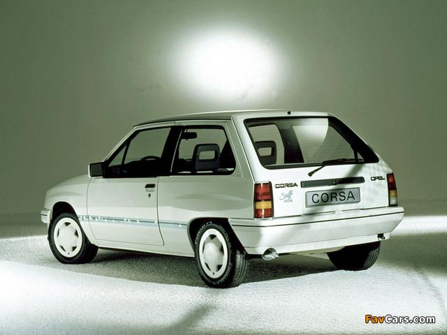 Opel Corsa Steffi Graf Special (A) 1986–89 images (640 x 480)