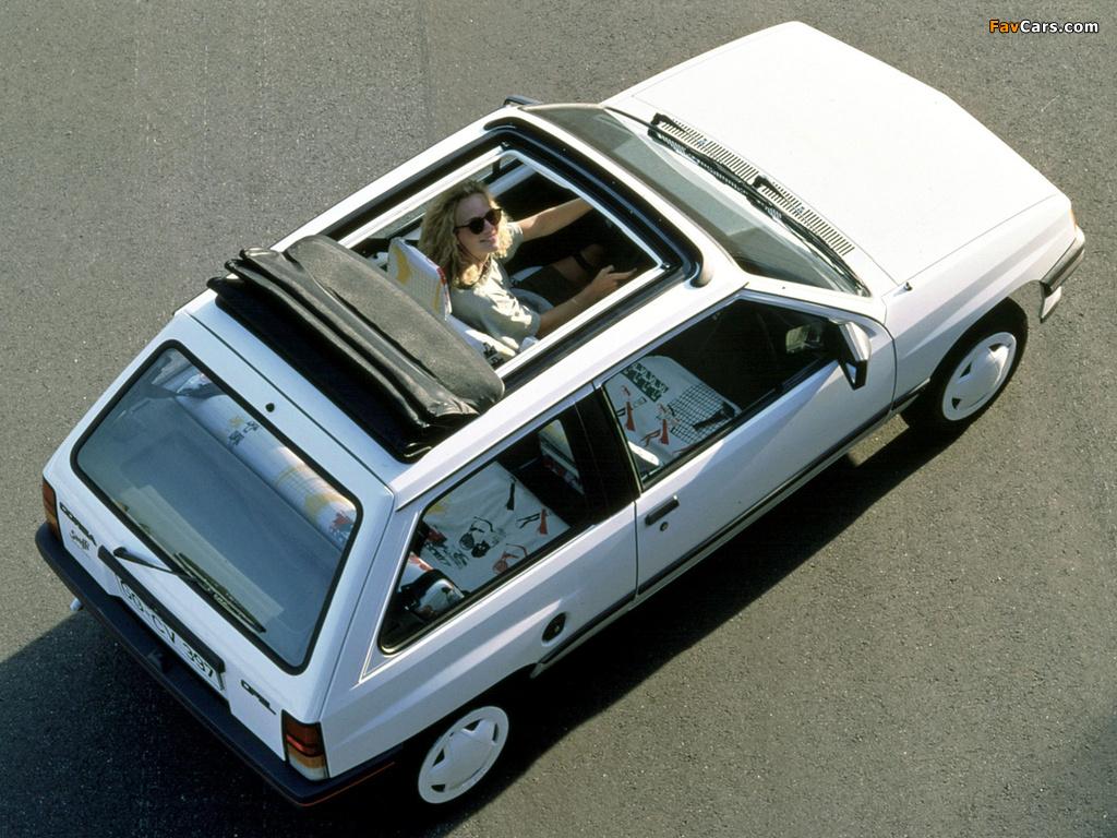 Opel Corsa Steffi Graf Special (A) 1986–89 photos (1024 x 768)