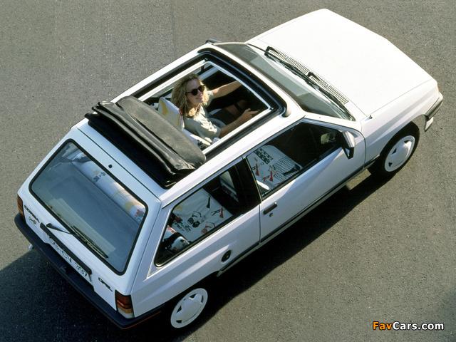 Opel Corsa Steffi Graf Special (A) 1986–89 photos (640 x 480)