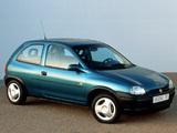 Opel Corsa 3-door (B) 1993–97 images