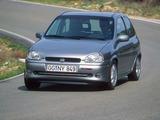 Opel Corsa GSi (B) 1993–2000 photos