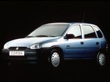 Opel Corsa 5-door (B) 1993–97 pictures