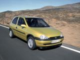 Opel Corsa 3-door (B) 1997–2000 images