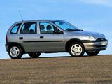 Opel Corsa 5-door (B) 1997–2000 pictures