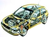 Opel Corsa 3-door (B) 1997–2000 pictures