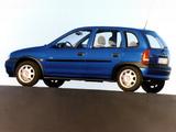 Opel Corsa Swing 5-door (B) 1998–2000 images