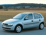 Opel Corsa 5-door (C) 2000–03 images