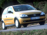 Opel Corsa 3-door (C) 2000–03 images