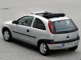 Opel Corsa Canvas Top (C) 2000–03 images