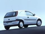 Opel Corsavan (C) 2000–03 images