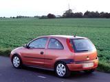 Opel Corsa 3-door (C) 2000–03 images