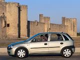 Opel Corsa 5-door (C) 2000–03 pictures