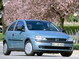 Opel Corsa 3-door (C) 2000–03 pictures