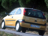 Opel Corsa 3-door (C) 2000–03 wallpapers