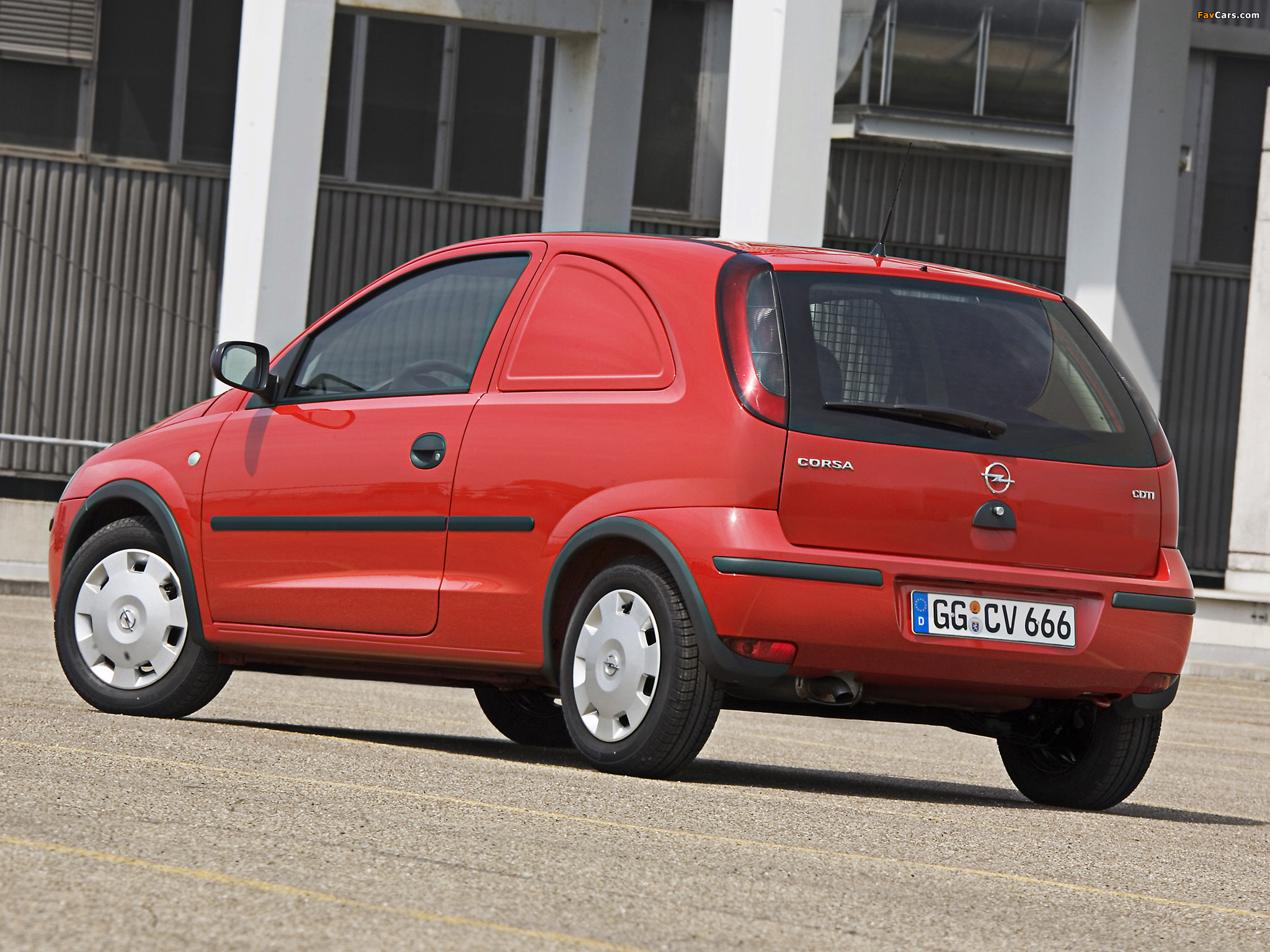 Opel Corsavan () 2003–07 images (2048 x 1536)