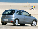 Opel Corsa 3-door (C) 2003–06 photos