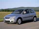 Opel Corsa 3-door (C) 2003–06 wallpapers