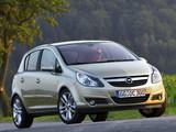 Opel Corsa 5-door (D) 2006–09 photos