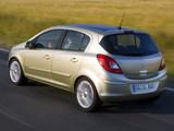 Opel Corsa 5-door (D) 2006–09 pictures