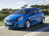 Opel Corsa OPC (D) 2007–10 photos
